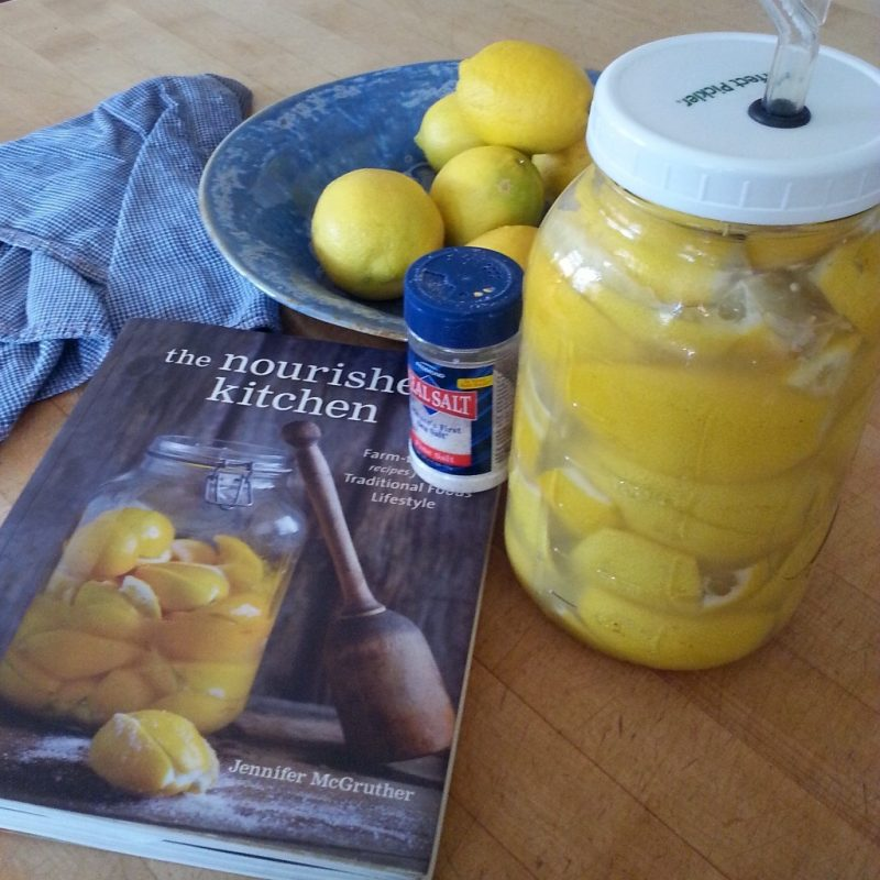 Fermentation // fruit // lemons // preserving with salt at copperandglass homestead.